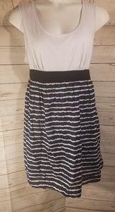 Pure Energy Striped Short Plus Size Dress